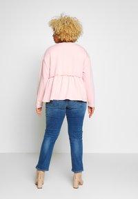 Persona by Marina Rinaldi - ILARIA - Slim fit jeans - grigio scuro - 2