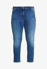 Persona by Marina Rinaldi - ILARIA - Slim fit jeans - grigio scuro - 3