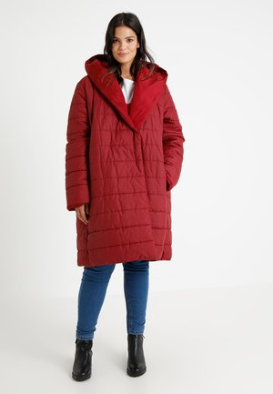 PINA OUTERWEAR - Classic coat - bordeaux