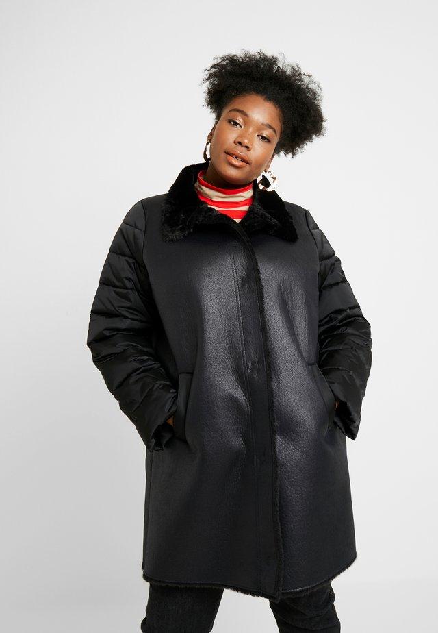 ELGA - Płaszcz zimowy - nero