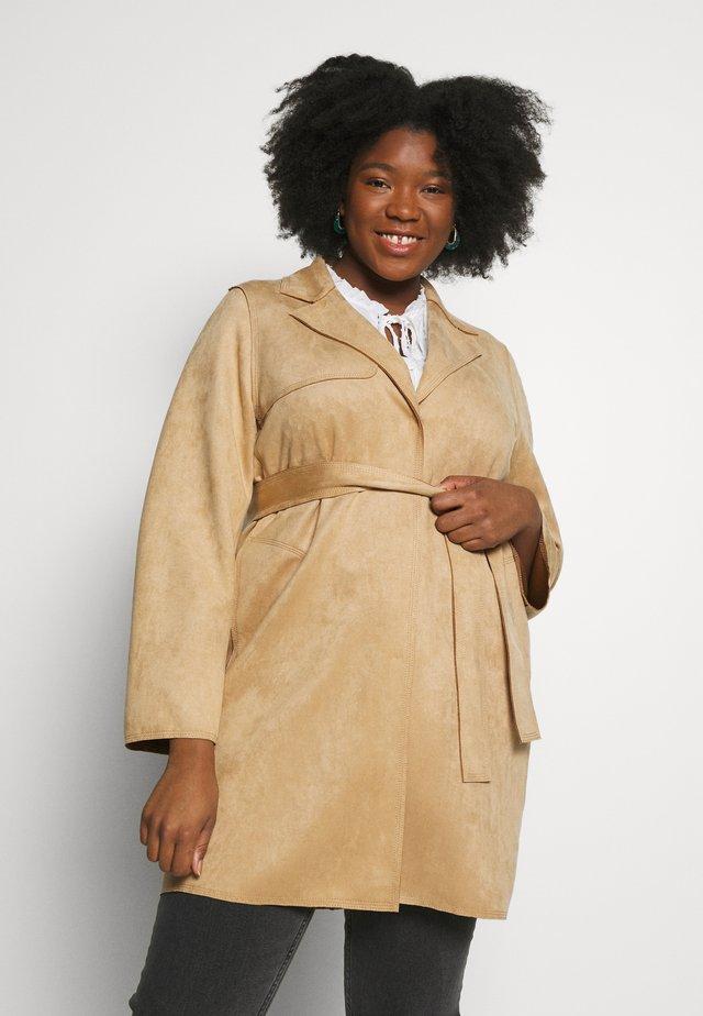OGIVA - Krótki płaszcz - beige caldo