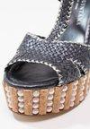 Pons Quintana - Sandaler med høye hæler - metal oceano/acero