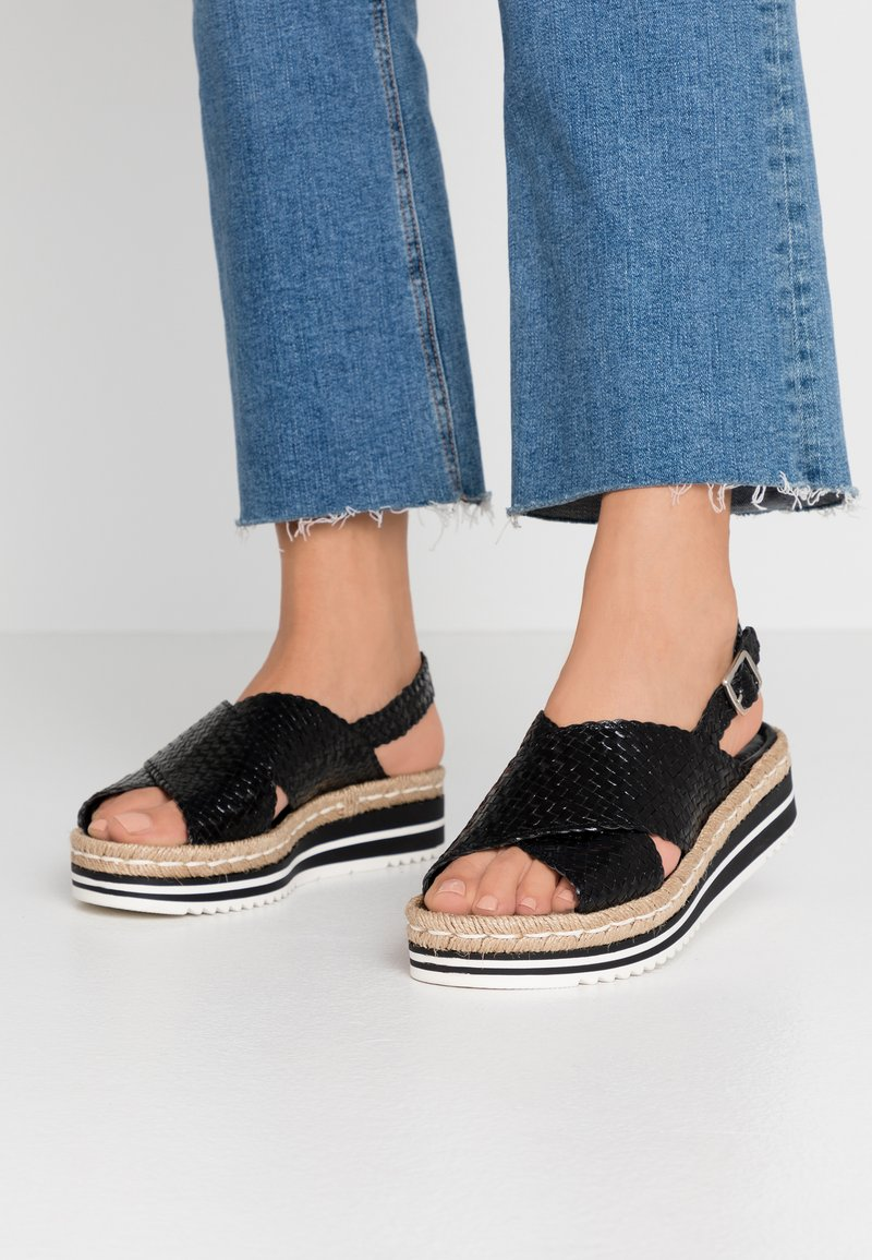 Pons Quintana - Platform sandals - black