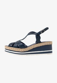 Pons Quintana - Platform sandals - azulon - 1