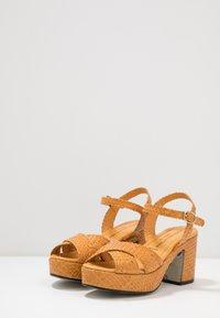 Pons Quintana - High heeled sandals - mostaza - 4
