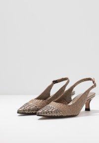 Pons Quintana - Classic heels - alba/alga - 4