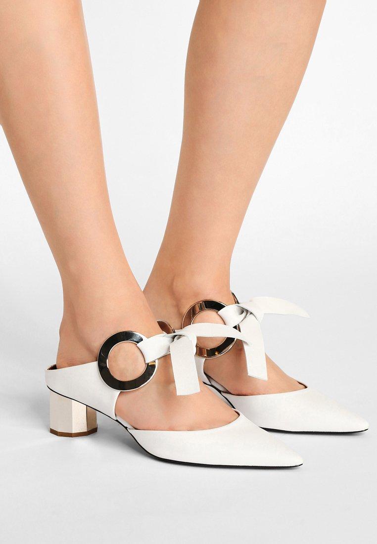 Proenza Schouler - Pantolette hoch - bianco