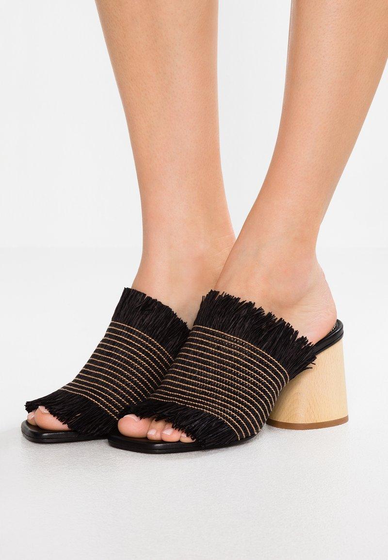 Proenza Schouler - Pantolette hoch - black