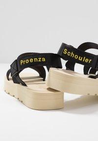 Proenza Schouler - Sandály - nastro nero - 7