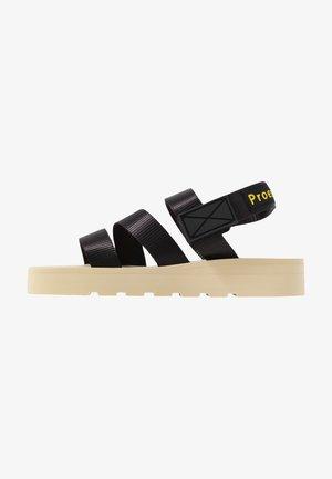 Sandals - nastro nero