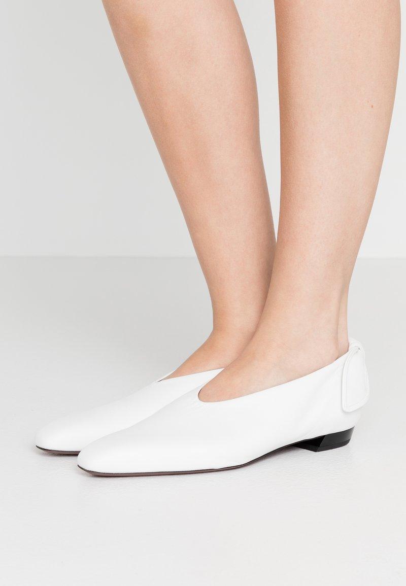 Proenza Schouler - Nazouvací boty - bianco