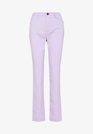 SUITING HIGH WAISTED PANT - Pantalon classique - lilac
