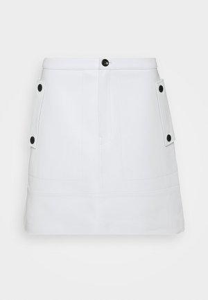 MIDI SKIRT - A-line skirt - off white