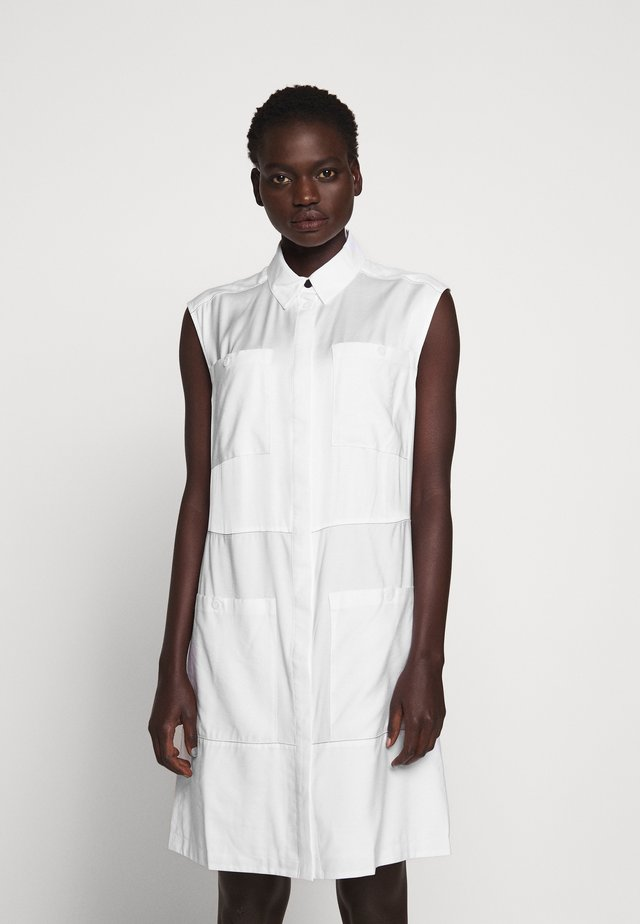 DRESS - Blousejurk - optic white