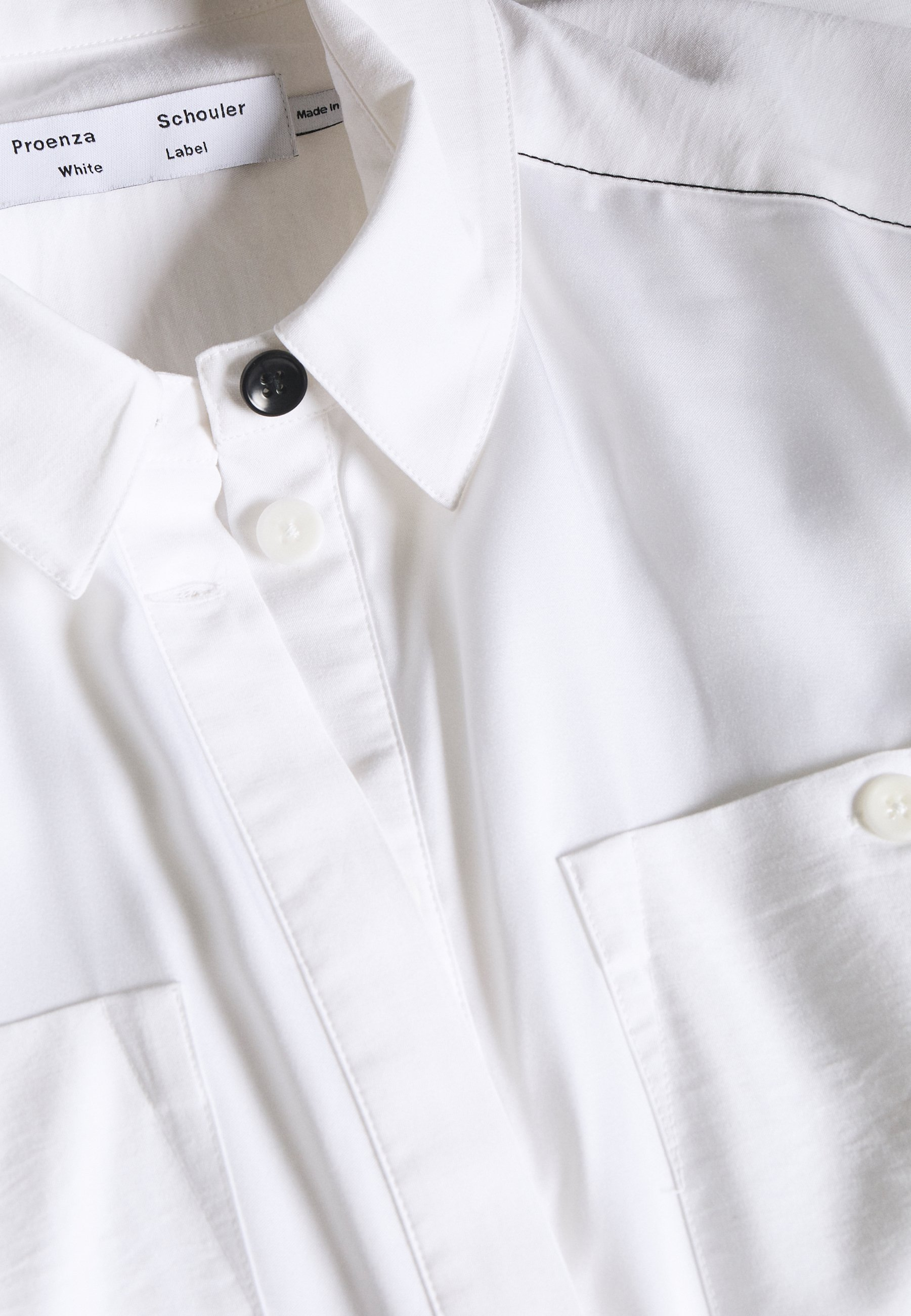 Proenza Schouler Dress - Shirt Optic White