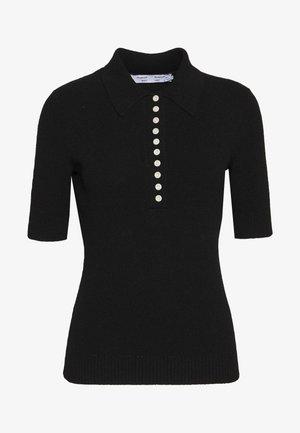 SHORT SLEEVE - Koszulka polo - black