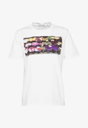 SHORT SLEEVE - T-Shirt print - off white