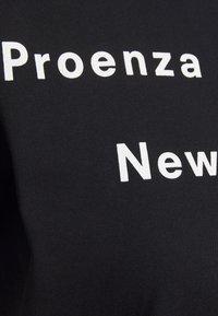 Proenza Schouler - SHORT SLEEVE - T-shirt con stampa - black/ecru - 2