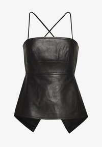 Proenza Schouler - STRAPPY - Top - black - 0