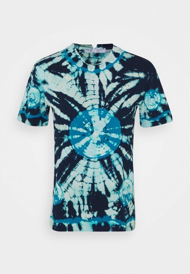 CLASSIC SHORT SLEEVE SHIRT - T-shirt med print - dark blue
