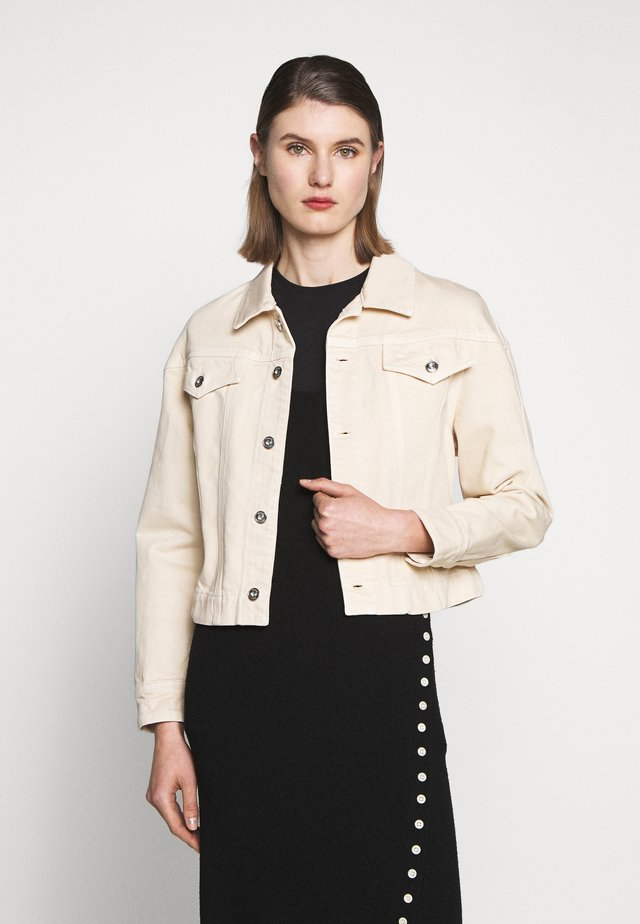 CINCHED JACKET - Giacca di jeans - sand