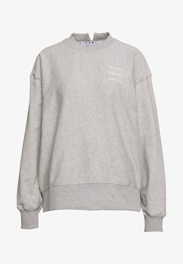 LONG SLEEVE LOGO - Sweatshirt - grey