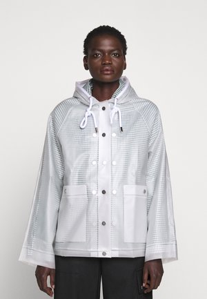 SHORT LINED RAINCOAT - Impermeable - milky white
