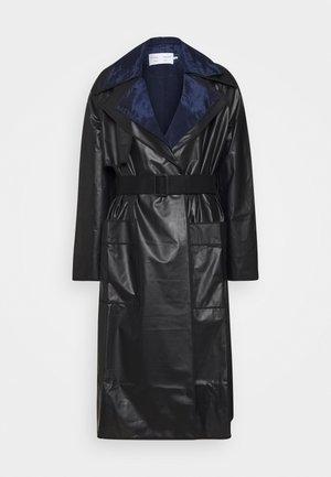 BELTED COAT 2-IN-1 - Regenjas - dark grey