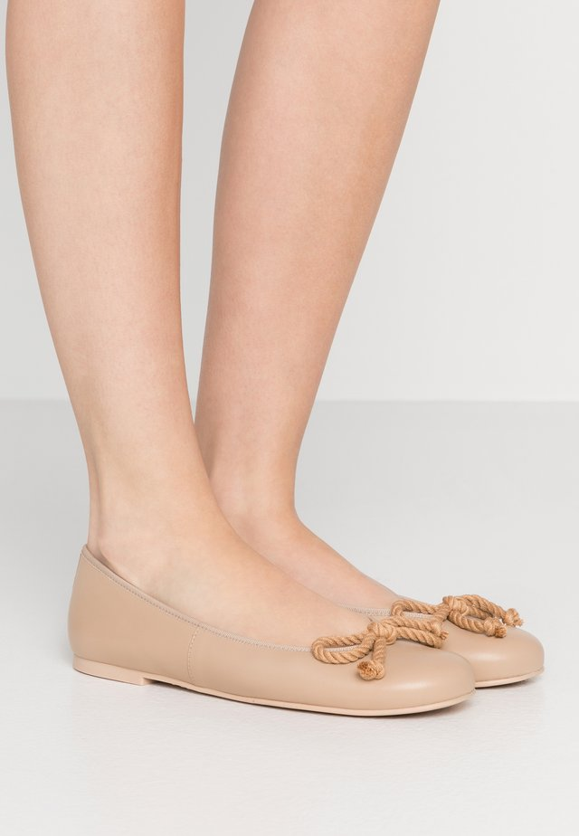 Ballerinaskor - caramel
