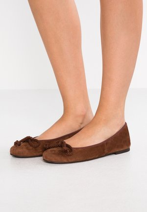 ANGELIS - Ballet pumps - vilmius/marron