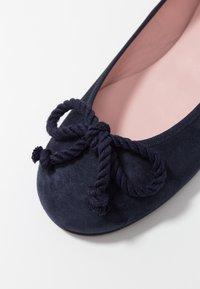 Pretty Ballerinas - ANGELIS - Ballerina's - navy/blue - 2