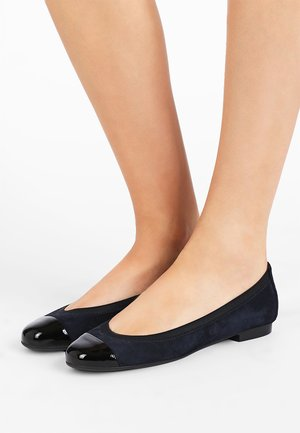 ANGELIS - Ballet pumps - shade/navy blue azul