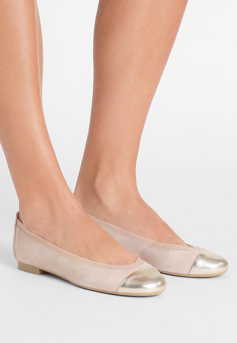 Pretty Ballerinas - AMI ANGELIS - Ballet pumps - tan