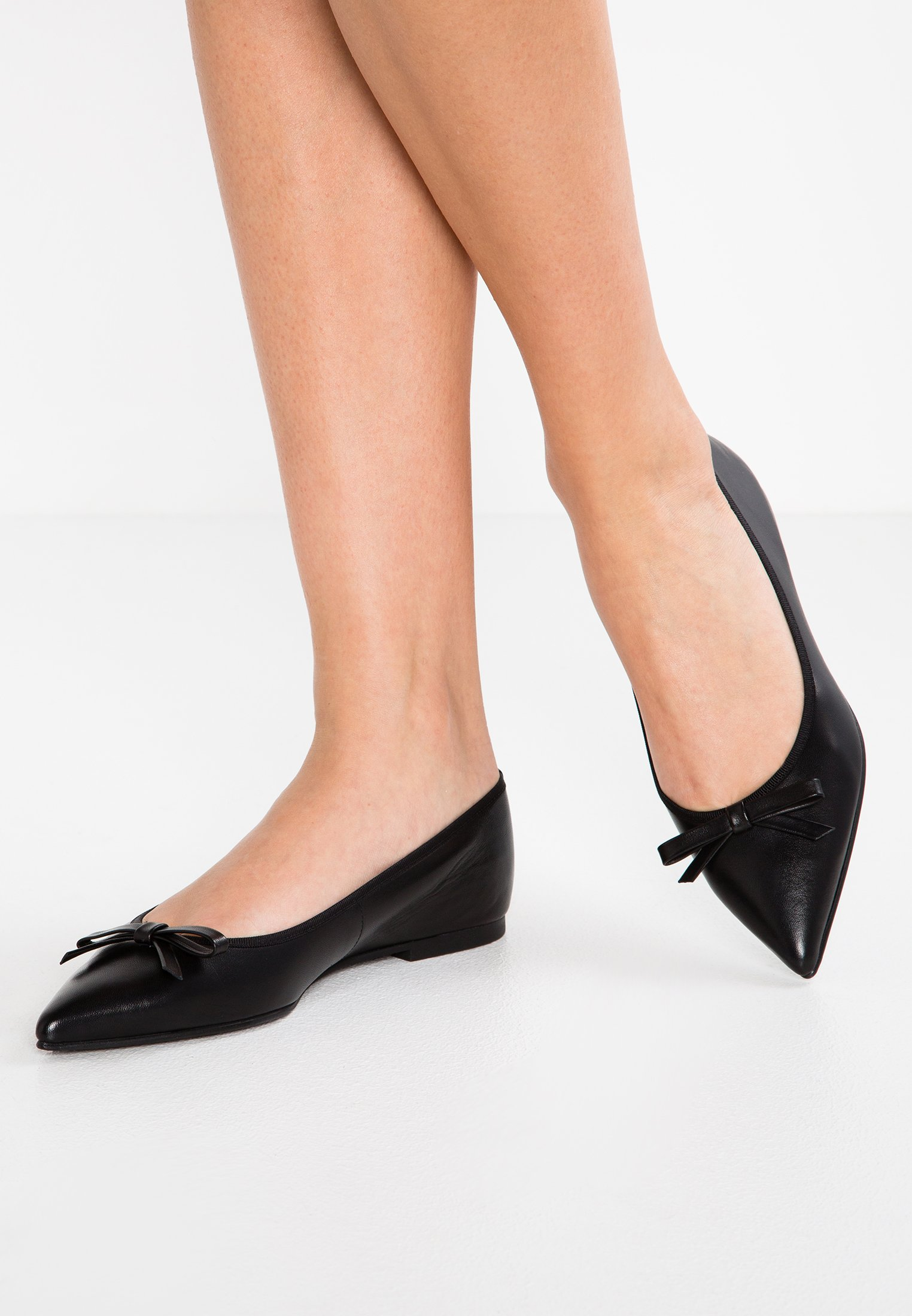 Pretty Ballerinas COTON - Baleriny - black