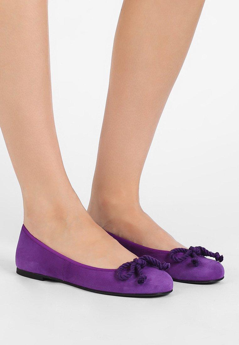 Pretty Ballerinas - ANGELIS - Ballerina's - leta mordado purple