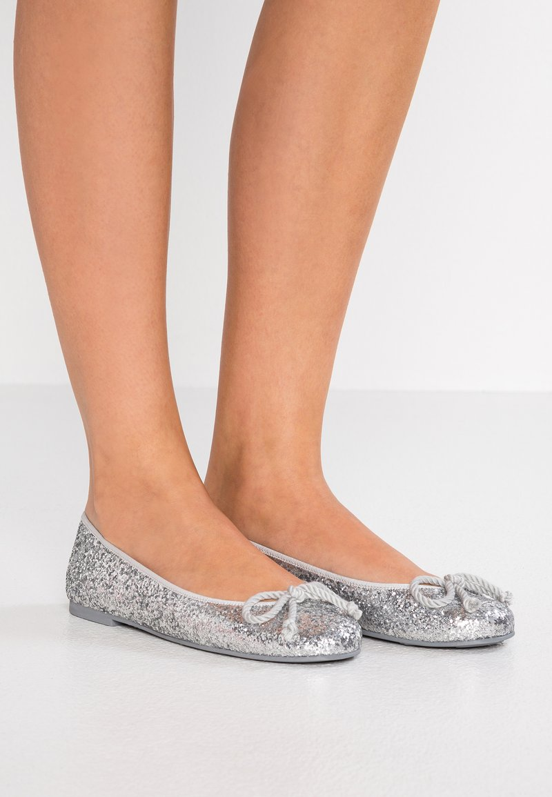 Pretty Ballerinas - KYLIE - Ballet pumps - silver