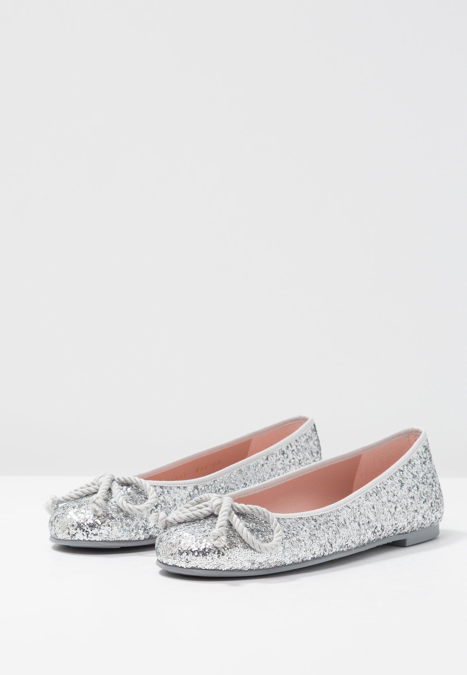 Pretty Ballerinas KYLIE - Baleriny - silver