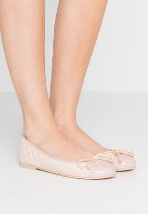 Ballet pumps - shade rose