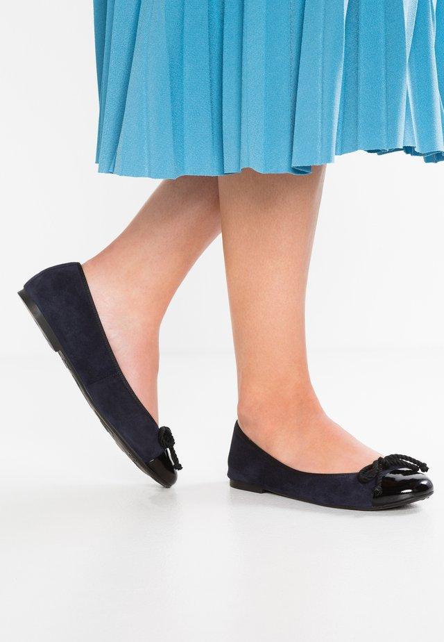 Klassischer  Ballerina - black/navy blue