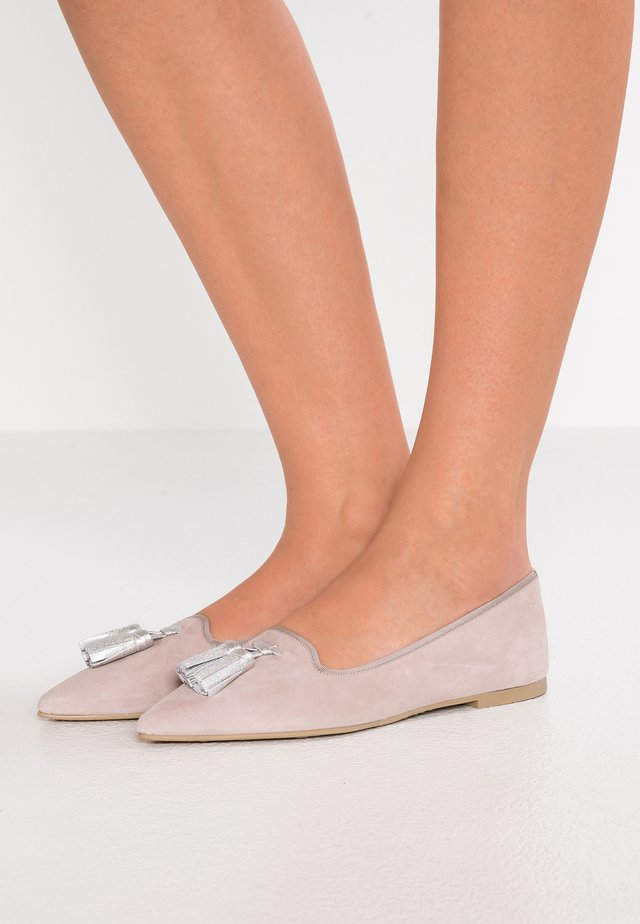 ANGELIS - Loafers - angelis hasyr/ami plata