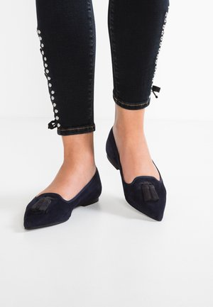 ANGELIS - Slipper - navy blue/balder/black