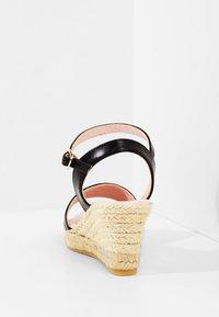 Pretty Ballerinas - Sandaletter med kilklack - black - 4