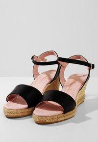 Pretty Ballerinas - Sandaletter med kilklack - black - 3