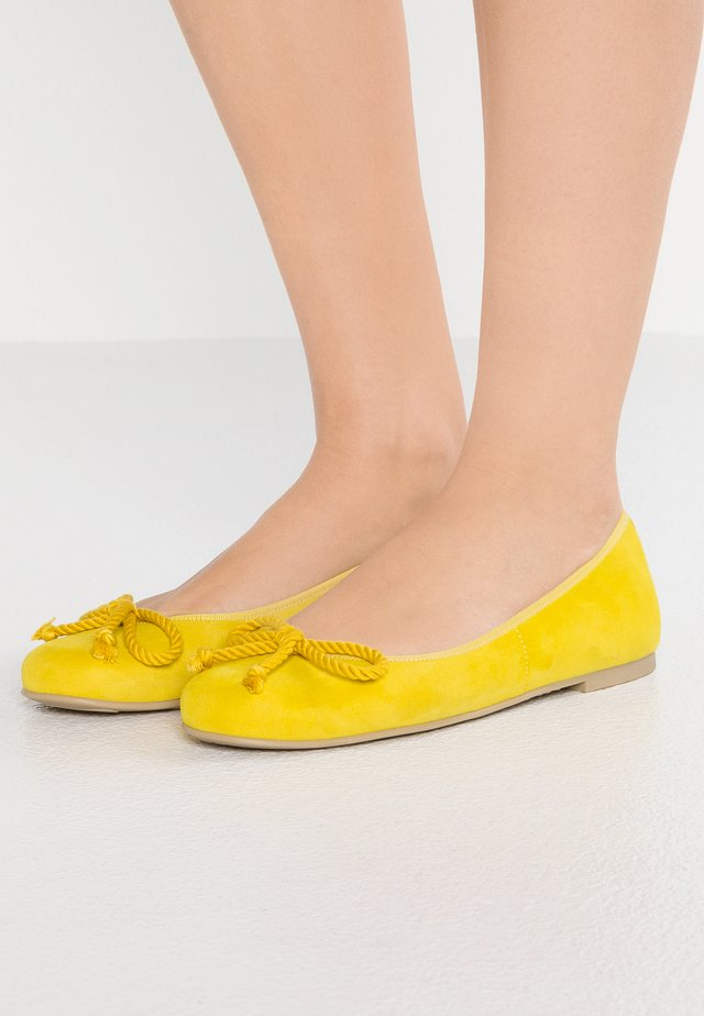 ANGELIS - Ballet pumps - sunny