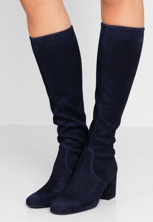 ANGELIS STRETCH - Vysoká obuv - navy blue