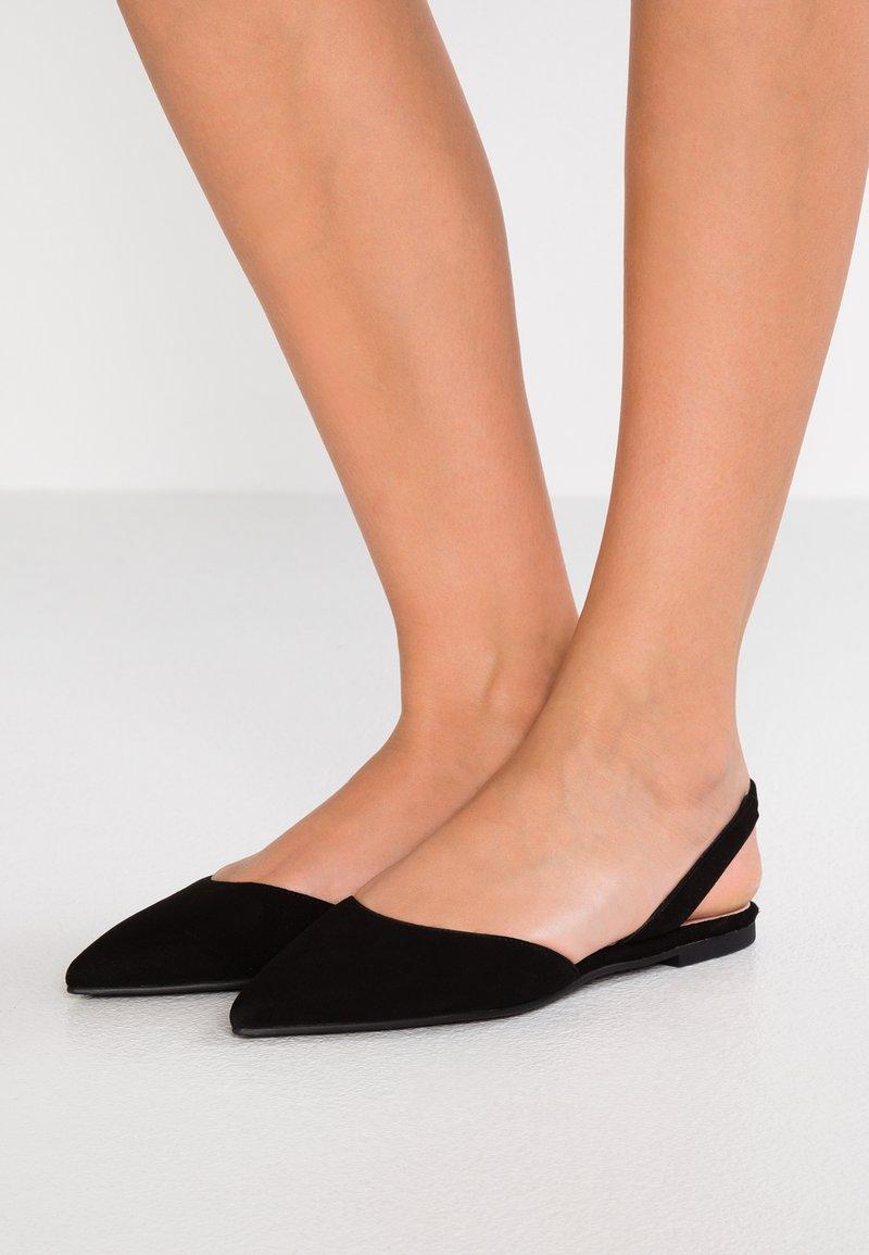 Pretty Ballerinas - Sling-Ballerina - black