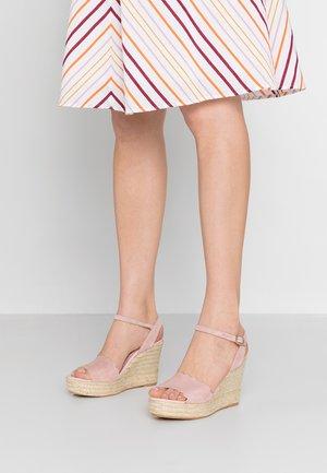 ANGELIS - Sandály na vysokém podpatku - peach/natural