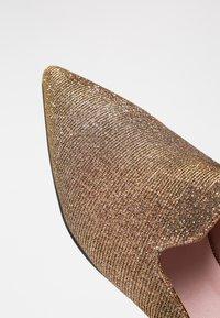 Pretty Ballerinas - GALASSIA - Mules - bronze - 2