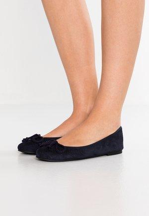 PUNTINI - Ballerina's - navy blu