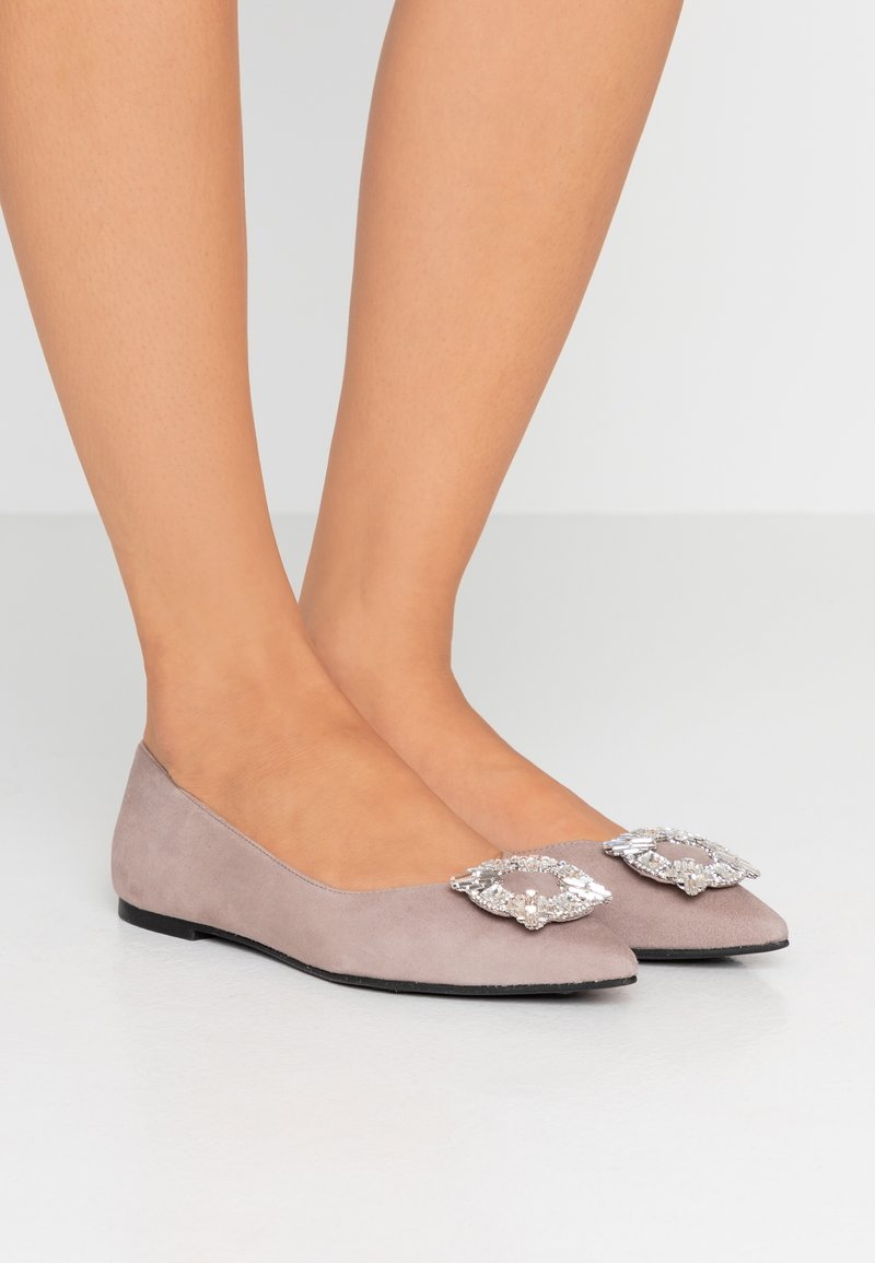 Pretty Ballerinas - ANGELIS - Ballet pumps - taupe